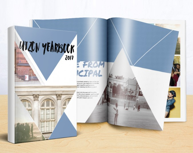 treering's ready-to-use high school yearbook themes