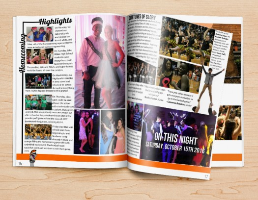 yearbook design ideas for student life