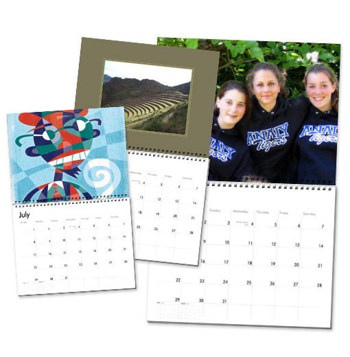custom calendars picture