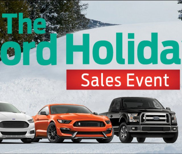 Both Ford And Kia Are Holding Holidays Sales Events So At Least You Can Save Yourself Some Money If You Are Looking At A New Large Present For Yourself Or