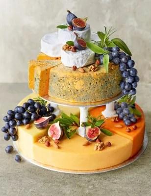 Cheese Celebration Cake Serves 90 120 MampS