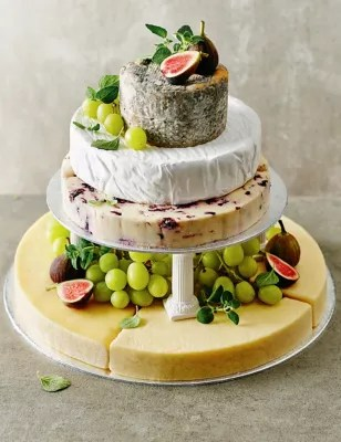 Small Cheese Celebration Cake Serves 50 70 MampS