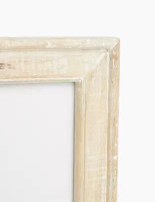 whitewashed wood photo frame 4x6 inch m s