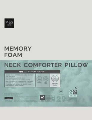 memory foam pillows synthetic goose