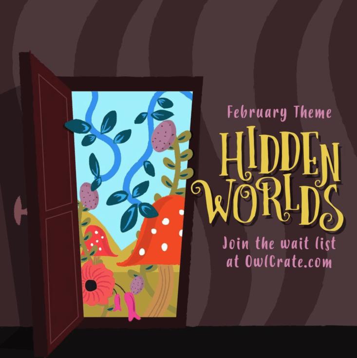 Image result for Owlcrate hidden worlds