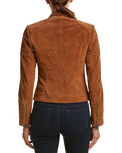 Bagatelle Suede Moto Jacket Wendy Williams deals