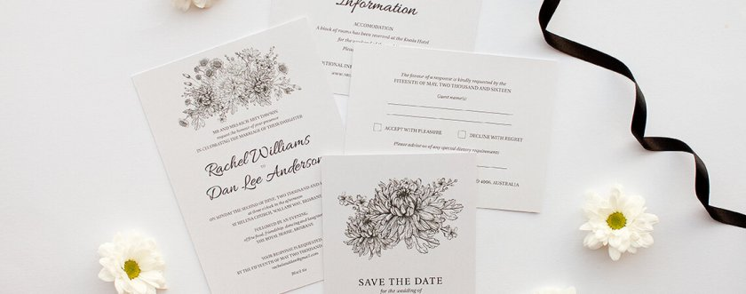 Elegant Ways Tell Your Guests About Gift Registry