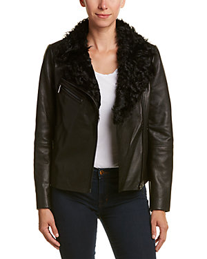 Badgley Mischka moto jacket seen on Wendy Williams deals ruelala