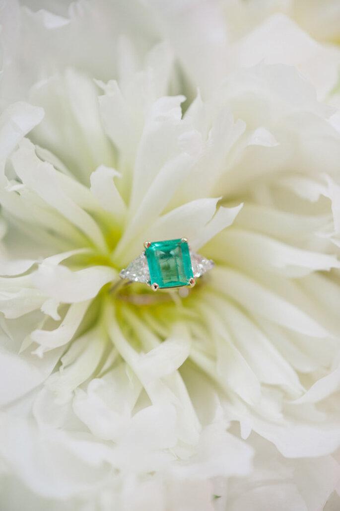 El significado de las piedras preciosas del anillo de compromiso - Foto-Stacy Able