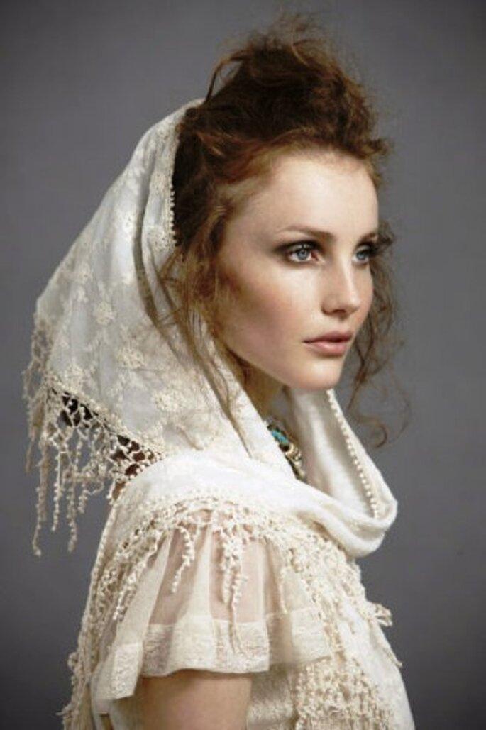 Vintage Style Bridal Hair Chain Comb Hair Wrap Grecian Headpiece