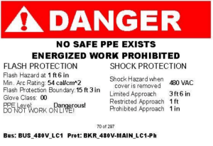 arc flash study re protection