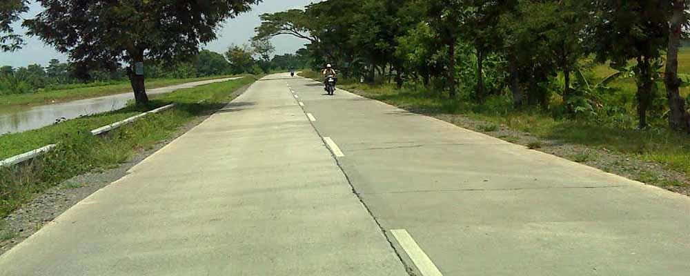 Hasil gambar untuk jalan beton
