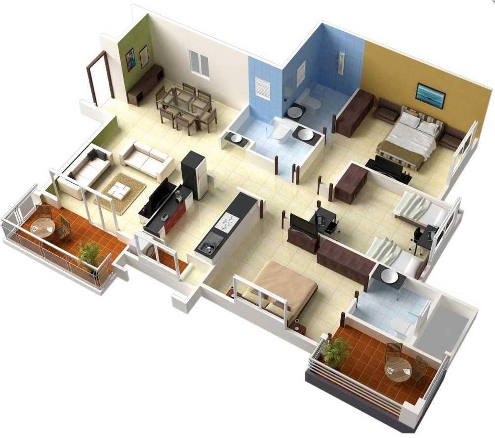 Hitungan Biaya Membangun Rumah 3 Kamar Tidur Lantai 1 Oleh Daniar