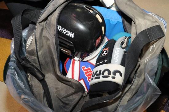 Donate sports equipment