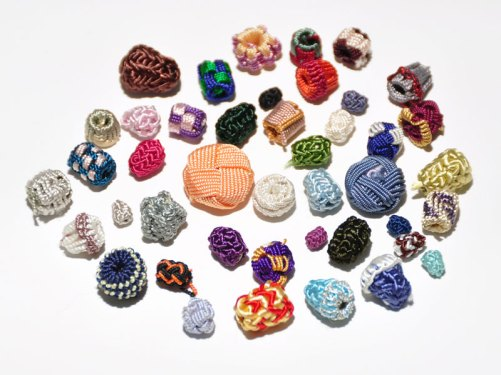 A sample bag of buttons.