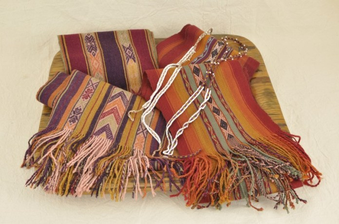 Contemporary Peruvian weavings are a ClothRoads specialty.