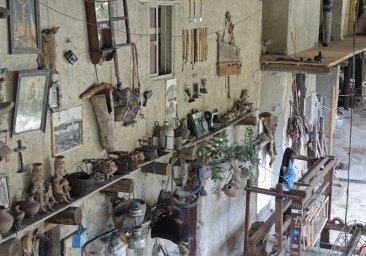 "Jose´'s workshop is an inspiring ""museum"" of artifacts."