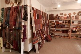 Large selection of textiles from Center for Traditional Textiles Cusco.