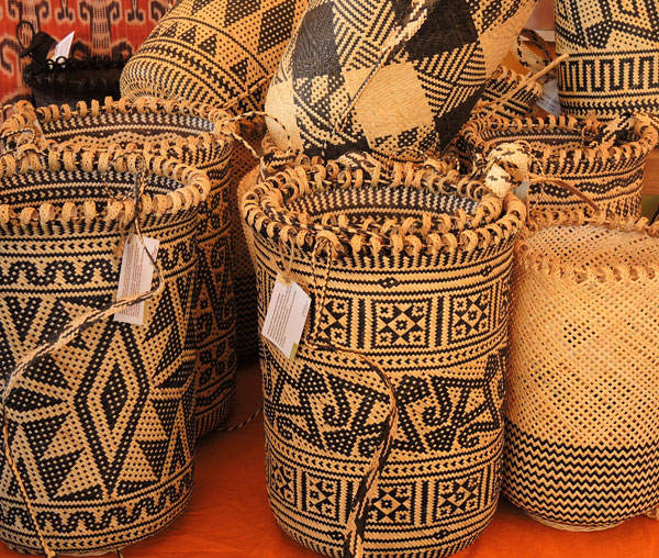 Baskets vary in design and use.