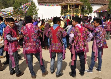 Big festival day. The men are fashionistas now.