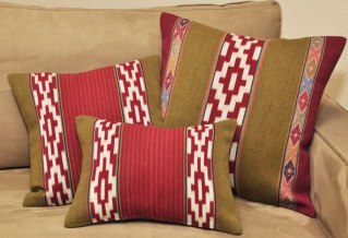 The Huatay Peruvian Pillow Collection.