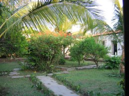 On the grounds of Hacienda San Juan Buena Vista.