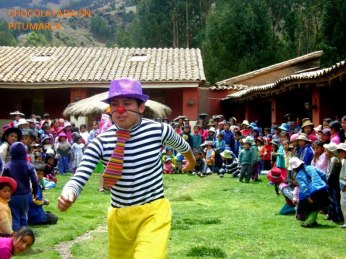 Clowning around in Pitumarca