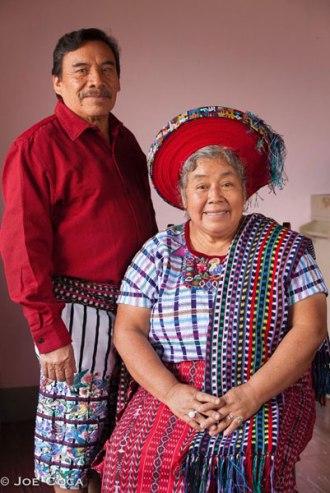 Manuel Reanda and Lola Sapalu