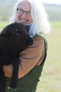 Sally Fox. Photo credit: fibershed and Fox Fiber.