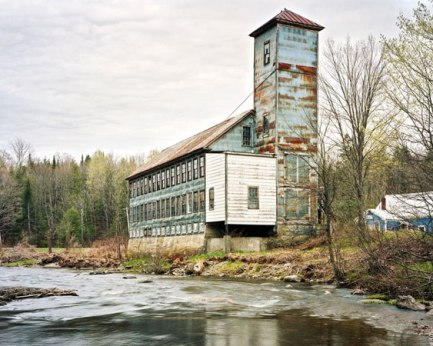 Christopher Payne's project documenting American textile mills began at Bartlett Yarns in Harmony, Maine.