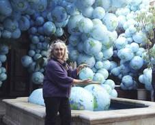 Here I am, Judy Newland, in my world.