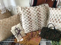 Textile goodies await.