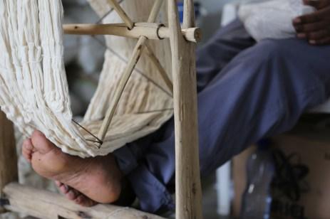 Skein of cotton fiber. Photo courtesy Creative Women.