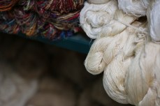Yarns waiting to be woven into something beautiful. Photo courtesy Creative Women.