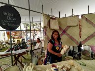 Featured artist at a regional expo venta. Photo courtesy Eric Chavez.