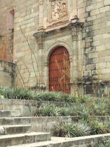 Colonial archtecture abounds in Oaxaca City.