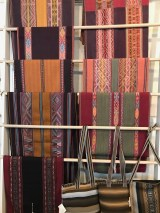 Table runners from the Center for Traditional Textiles of Cusco