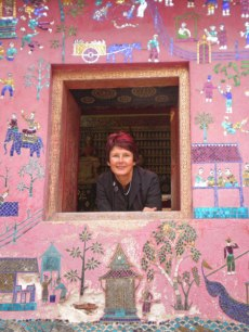 Guest writer Valerie Kirk in Laos.