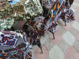 Ikat-Chairs