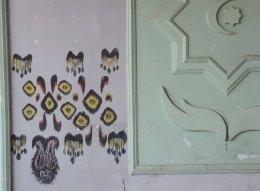 Ikat-on-wall