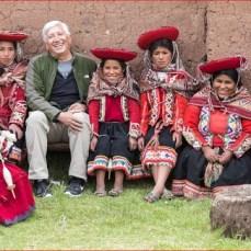 Joe Coca on the road in Peru