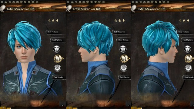 new hairstyles in today's build!
