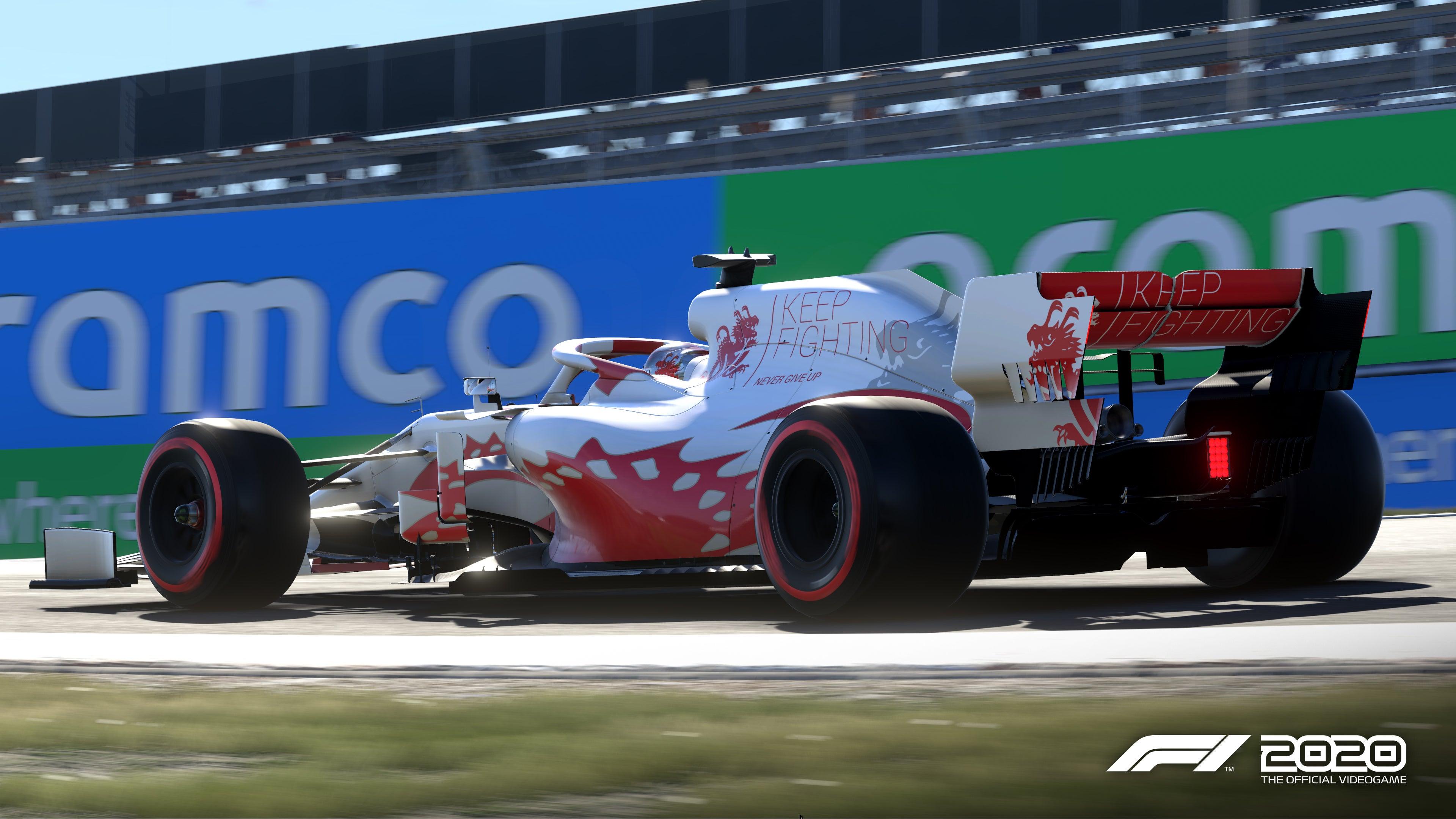 F1 2020 gets Schumi Keep Fighting DLC