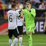 l'Allemagne ne fait qu'une bouchée de la Lettonie