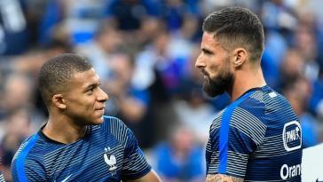Kylian Mbappé en a terminé avec la polémique Giroud