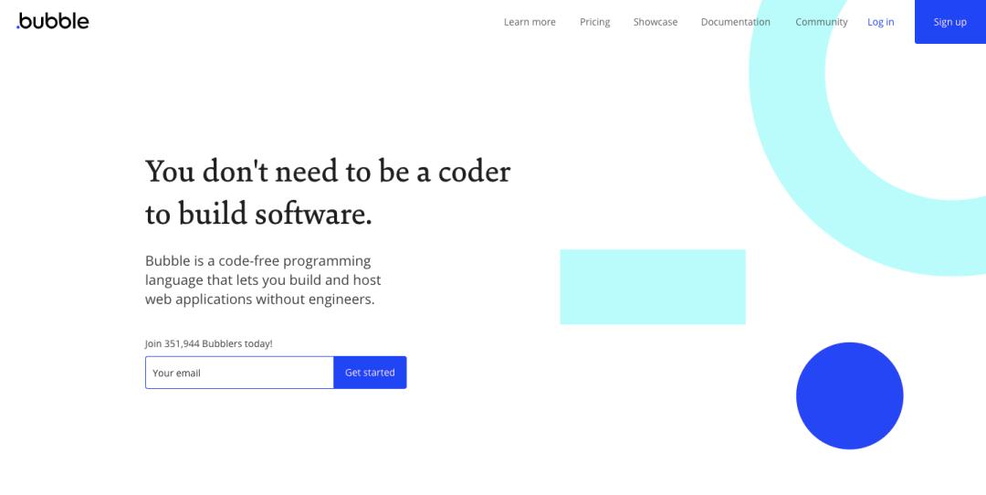 bubble no code tool