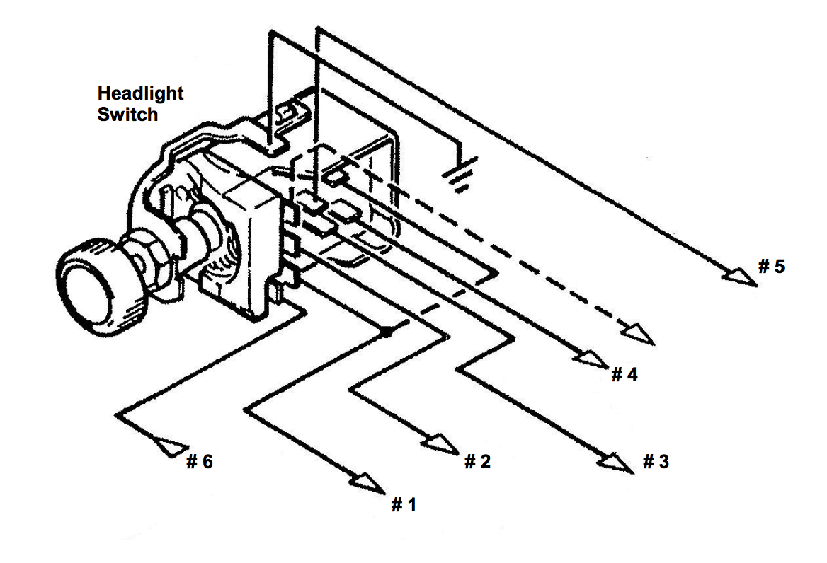 Installation Instructions For Gm Style Headlight Switch