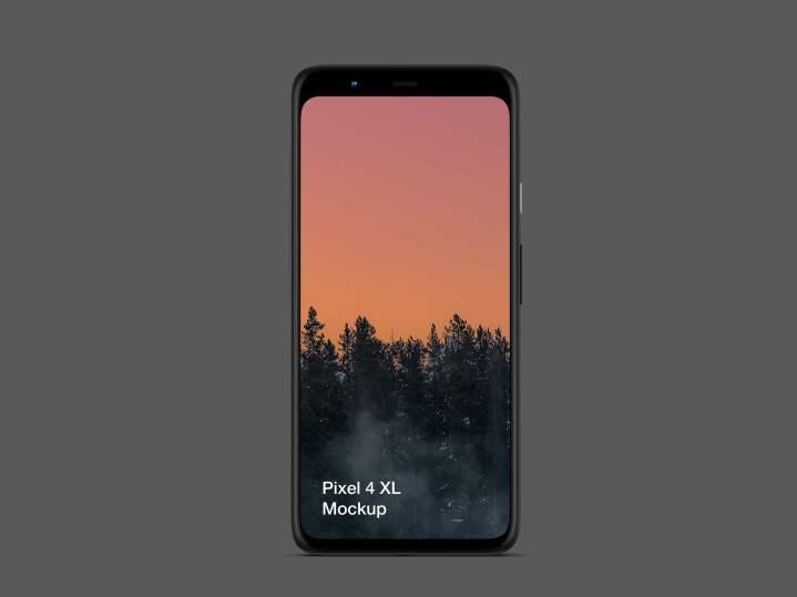 Pixel 4 XL Mockup