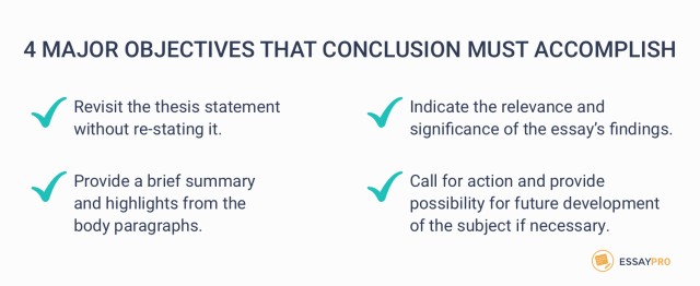 How to Write a Conclusion: Full Writing Guide with Examples  EssayPro