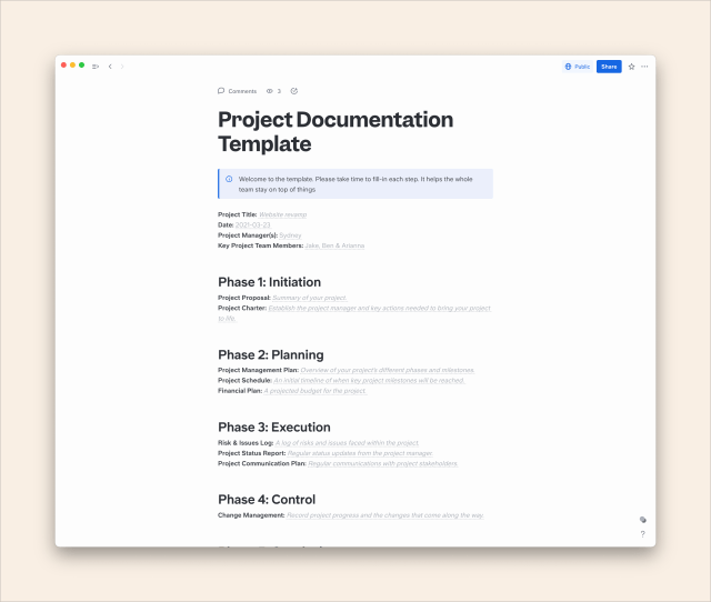 The Ultimate Guide to Project Documentation (with Free Template)